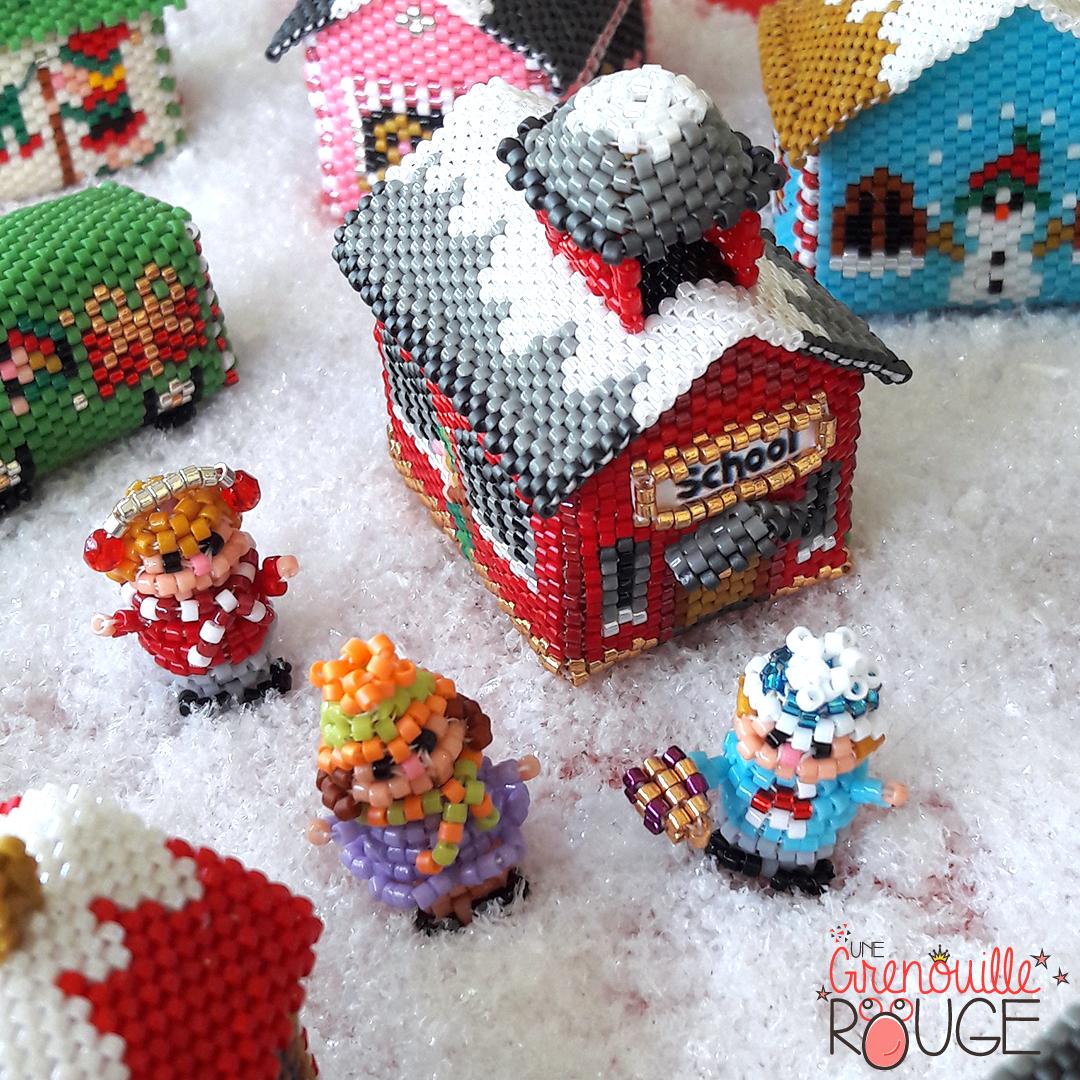 School - Miyuki Delica Seed Beads