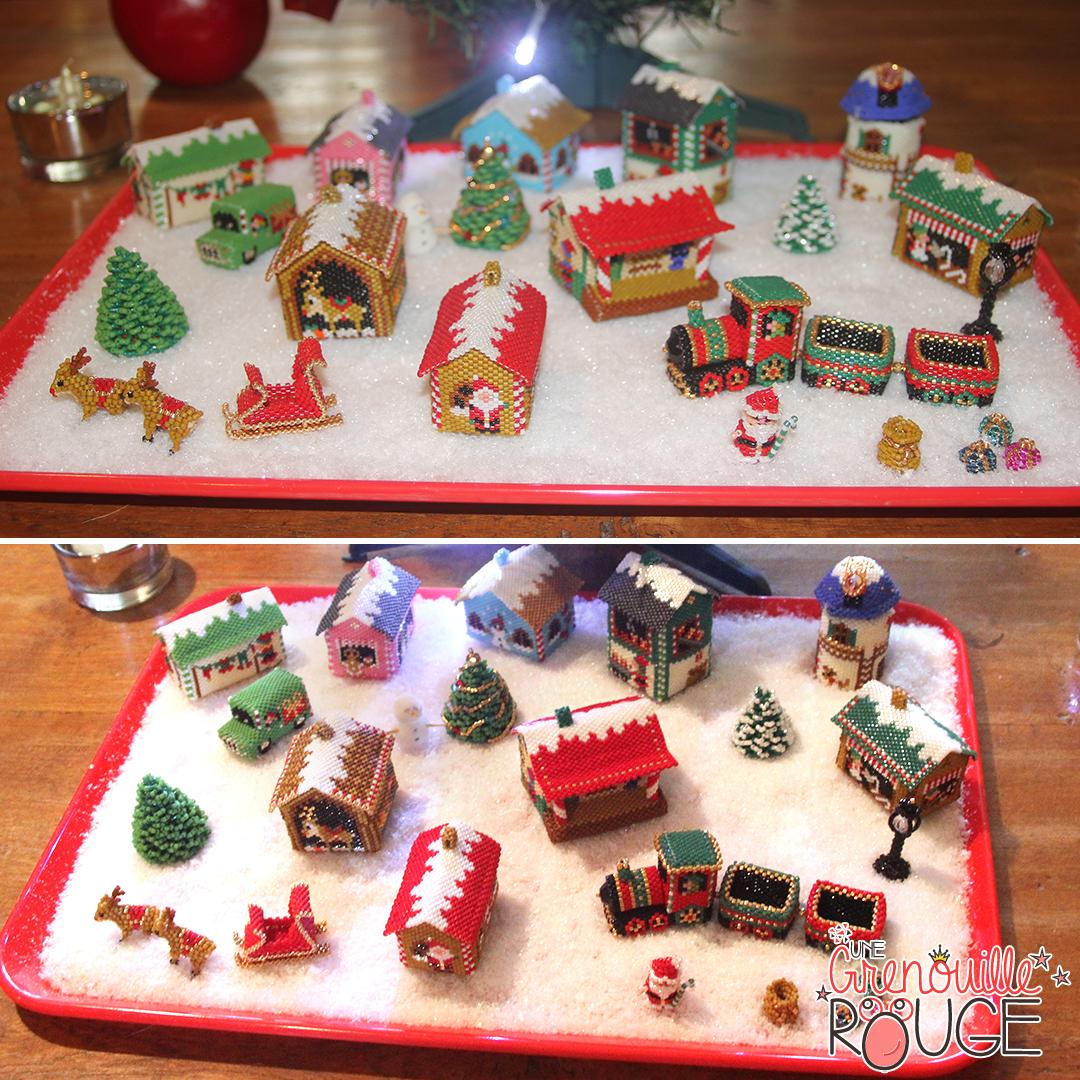 Village de Noël - Miyuki Delica Seed Beads