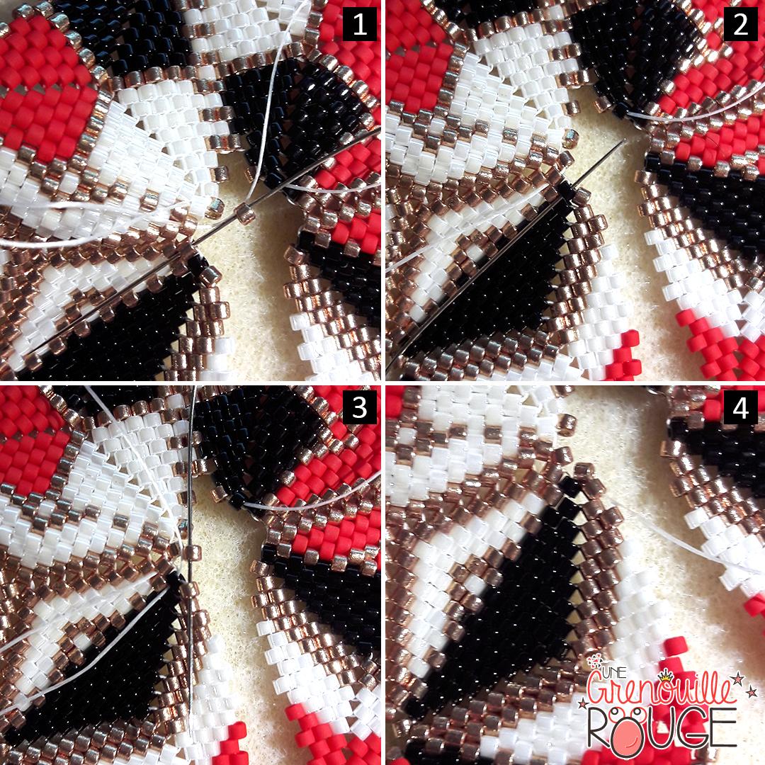Kaléidoscope en perles Miyuki