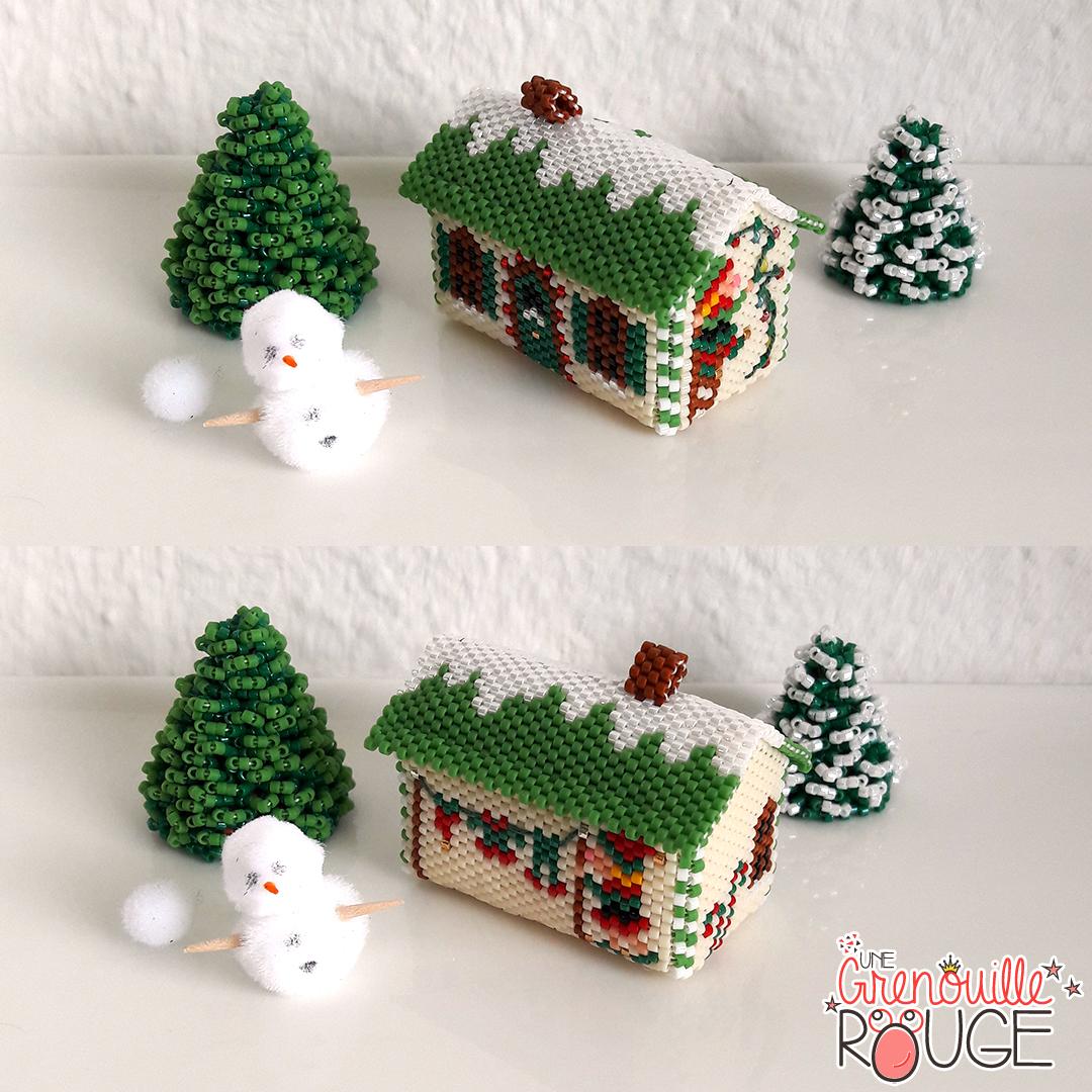 elf house - Miyuki Delica Seed Beads